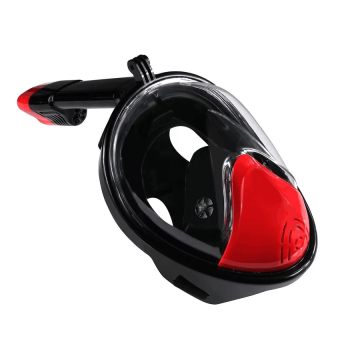 180View Field DryDive Full Face Snorkel Mask for Adults & Youth, Anti-fogging, No Leaking,L/XL