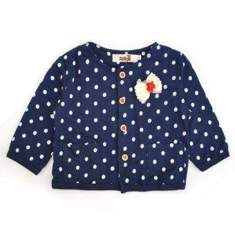 3Pcs Baby Kids Girls Long Sleeve Coat+Tops+Pants