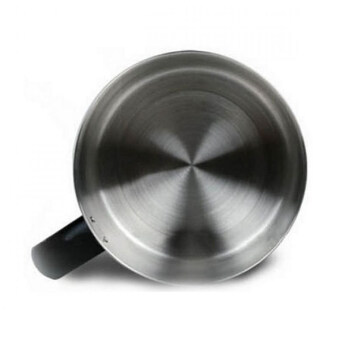 1.6L Stainless Steel Electric Cooking Pot With Separable Base (Silver)