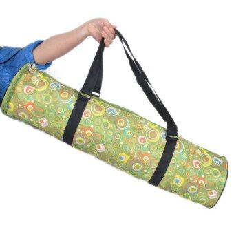 Colorful Printing Mat Bag YOGA Fitness g0926c Green