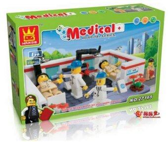 3 x Wange Medical Series Set (Clinic and Doctor 27161 + Medical Checking 27165 + Hospital and Ambulance 29162)