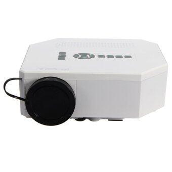 1200lumens HD 1080P Home Cinema 3D HDMI USB Video Game LED LCD Mini Projector White