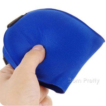 1Pc 3D Portable Breathable Eye Mask Cover Relieve Eye FatigueShading Sleeping Eye Patch (Blue)