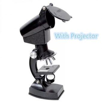 1200X Microscope Kit with LED Light with Projector