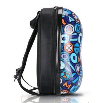 13 inch Anime Doraemon Pattern Hard Cover Backpack for Kindergarten Kids