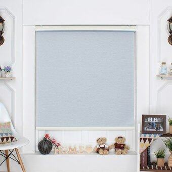 [Blind Korea] Roller Blinds / 100% Made in Korea / W122cm x H190cm / Blinds / Window Blinds / Korea Blinds / Blue