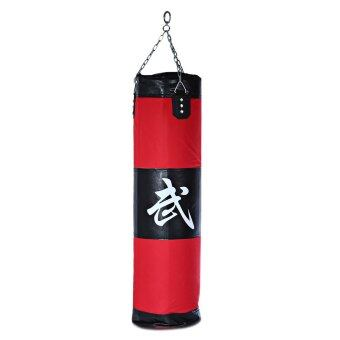 100cm Boxing Striking Drop Hollow Sand Bag with Chain Martial Art