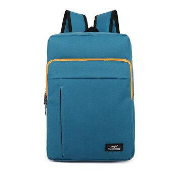 13 14 Inch Blue Nylon Waterproof Laptop Notebook Backpack Bags Case School Backpack for Travel Shopping Climbing Men Women