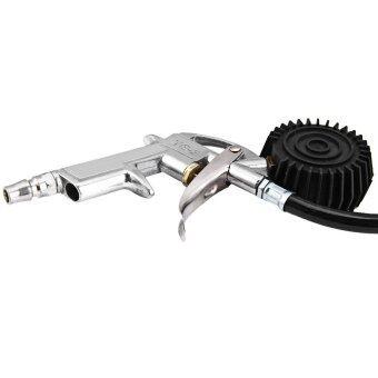 Newest hot sale Air Auto Truck Bike Tire Gun Tyre Inflating Inflator Tool Pressure Dial Gauge