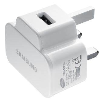 (IMPORT) Original Samsung Travel Adapter 10W with Fast Charger for Galaxy S3 S4 S5 Note 2 3 4 (White)