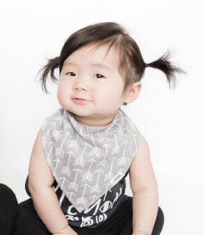 Baby Bandana Bib Set, 4-Pack Super Absorbent Drool Bandana Bibs (Arrows & Triangles) (Intl)