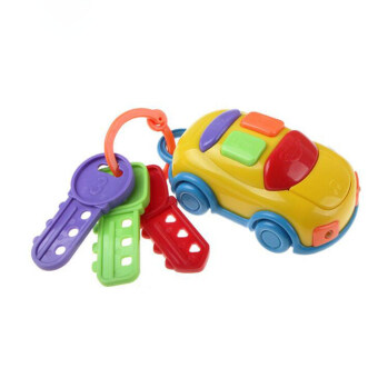 2016 New strange Baby toys Music car keys Bright Colors car alarm Toy model Electronic educational toys for children Kid Gifts