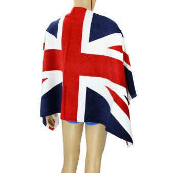 100% Cotton 70*140cm Large UK Flag Pattern Union Jack Beach Bathing Bath Towel Washcloth Bath Sheet Blanket Quick Dry