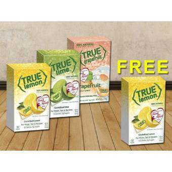 [Buy 1 FREE 1] [Hat Trick Deal] True Lemon + True Lime + True Grapefruit [Limited Time Offer](Free Lemon)