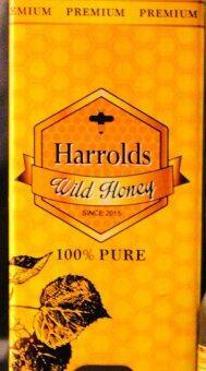 Harrolds 100% Pure Wild Honey