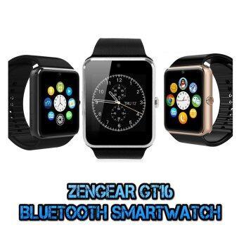 (2016 New Version - Original) ZenGear iWatch GT16 Digital Bluetooth Smart Watch (Silver)