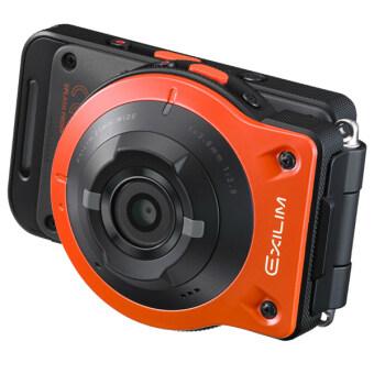 Casio EX-FR-10 FR10 Outdoor Selfie 2-in-1 Camera (Orange) + 8GB (MALAYSIAN WARRANTY)