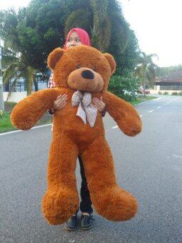 1.2 Meter Giant Teddy Bear (Dark Brown)