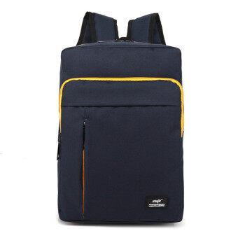13 14 Inch Dark Blue Nylon Waterproof Laptop Notebook Backpack Bags Case School Backpack for Travel Shopping Climbing Men Women