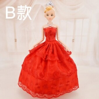 30cm Girls Plastic Classic Best Gift Figure Brinquedo Beautiful Girl Doll Toy Moveable Joint Body Fashion Toys