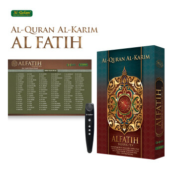 Al-Qolam Mushaf Alfatih Al-Quran with Digital Pen (Basic Pack)
