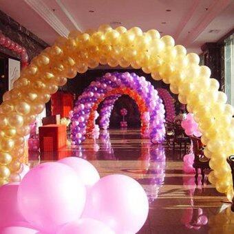 100 Pack Gold Latex 12\ Balloons