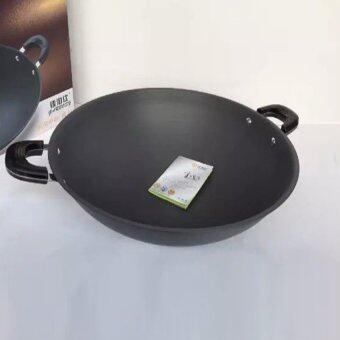 [High Quality] 42cm Non-Stick Casserole Wok YC-342
