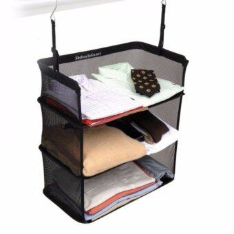 1 UNIT of 3-Tier Collapsible Organiser for Travel Luggage Bag