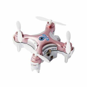 2016 High Quality Remote Control RC Quadcopter Wifi FPV 0.3MP Camera LED 3D Flip 4CH (Rose Red)