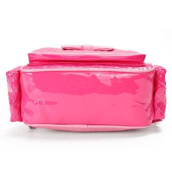 New Kids Children Girl Kindergarten Schoolbag Book Bag Toddle Backpack  Rucksack Rose red 21e73f027e69e