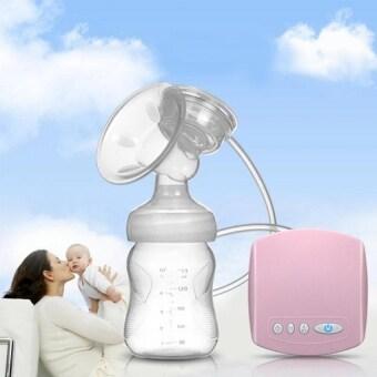2016 New Electric USB breast pump Postpartum Breast feeding breast pumps Breast milk suckers (White)