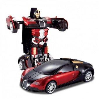 Deformation Bugatti Remote Control car remote control robot battleRed