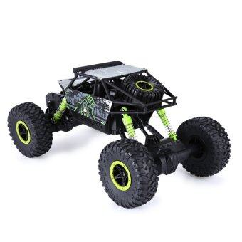 2.4Ghz 1/18 Scale Remote Radio Control 4 Wheel Drive Rock Crawler Toy Car