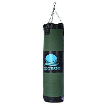 100cm Empty Punching Bag with Chain Martial Art Hollow Taekwondo Boxing Training Fitness Sandbag