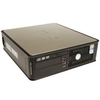 (REFURBISHED) Dell Optiplex 745 SFF + 17\ LCD Monitor - C2D/2GB/80GB/WiFi Usb Adapter