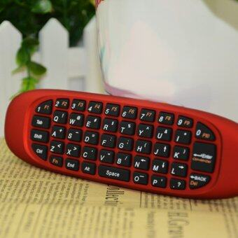 2.4G Remote Control Mini Keyboard Fly Air Mouse for Android(Red)