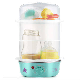 3 Layer Multi Baby Milk Bottle And Food Warmer (Blue)