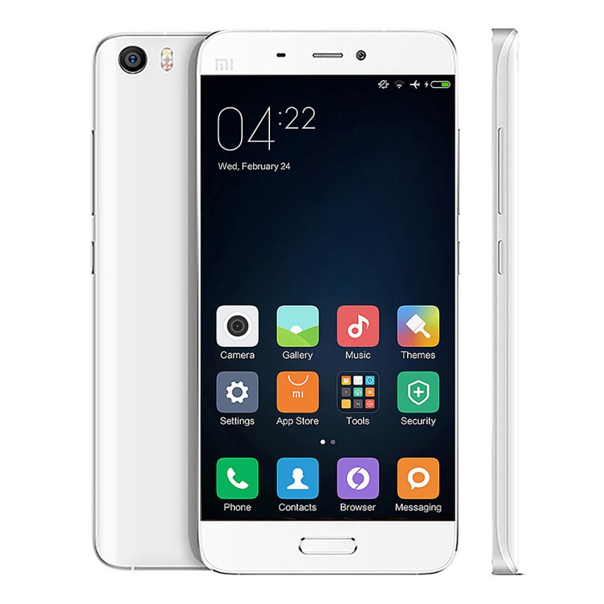 (IMPORT) Xiaomi Mi5 32GB+3GB RAM LTE WHITE(OFFICIAL GLOBAL STABLE ROM MUI CAN UPDATE)