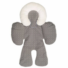 JJ Cole Baby Head And Body Support Pillow For Car Seat Stroller Grey Malaysia