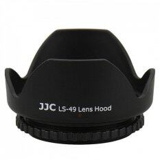 Jjc Ls-49 (49mm) Universal Flower Screw-In Lens Hood For Standard Zoom Lens (reverse Mount Possible) By Protege Net.