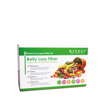 KITSUI Belly Loss Fiber 15G X 15S