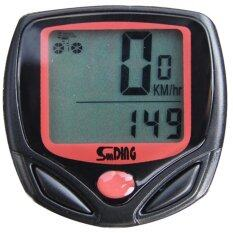 Lcd Cycling Bike Bicycle Cycle Computer Odometer Speedometer Waterproof Led By Hnz Best.