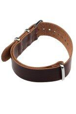 Leather Wrist Watch Strap (Brown) Malaysia