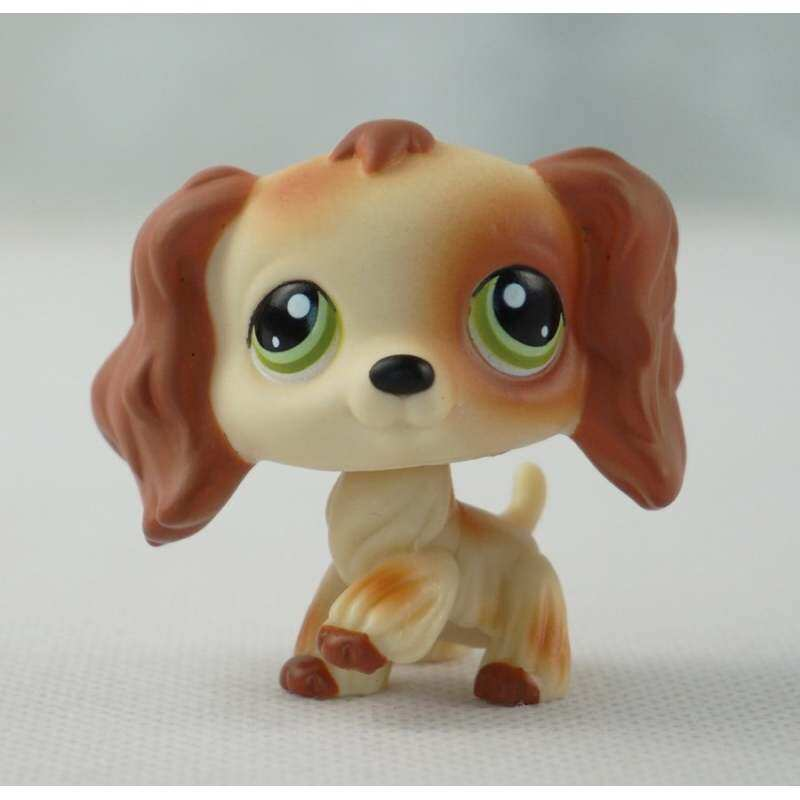 Littlest Pet Shop Lps 675 Kids Toys Brown Savanah Dachshund Dog .