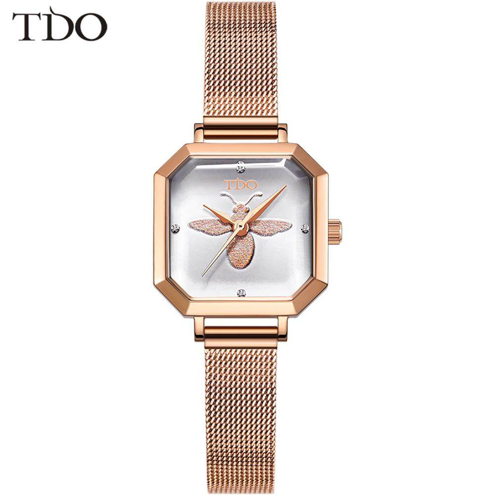 DiDo 2019 ladies watch women watch simple retro non-mechanical watch Imported movement temperament ins bee female watch waterproof Malaysia