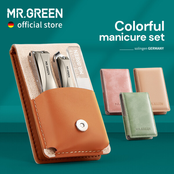 Buy MR.GREEN Colorful Manicure Set Stainless Steel Portable Nail Clippers Tool Pedicure Set Portable Travel Kit Ideal Gift For Friends Or Family Singapore