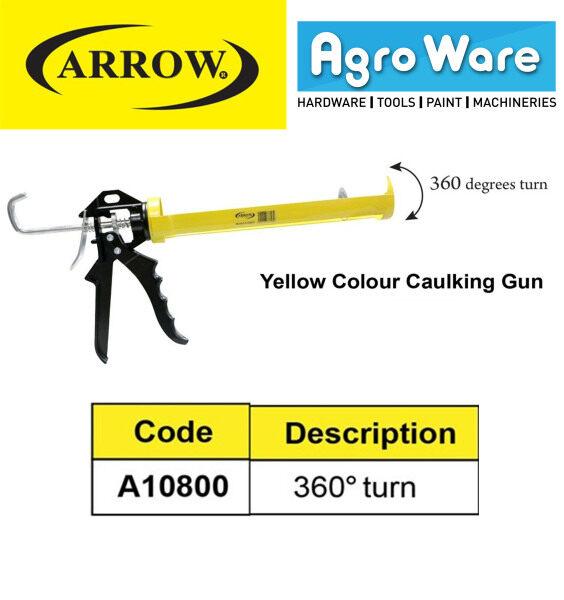 ARROW 360° Turn Yellow Colour Caulking Gun