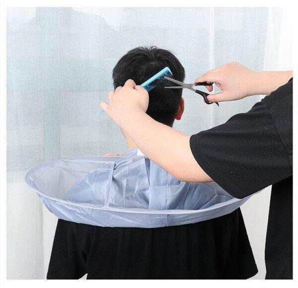 [Bán Chạy] Áo Choàng Cắt Tóc Salon Tóc Cho Người Lớn Trẻ Em, Áo Choàng Cắt Tóc Áo Choàng Cắt Tóc cao cấp