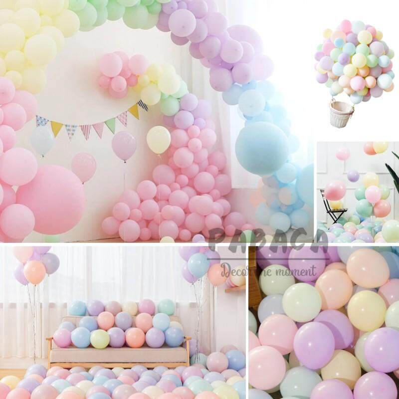 1f41efb62bc 20pcs Pastel Balloon 12 Inches Assorted Latex Macaron Balloons Helium  Wedding Party Decorations