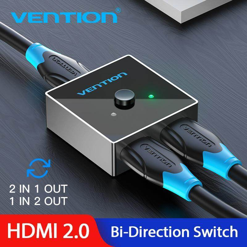 Bảng giá Vention Original 4K 2.0 HDMI Bi-Direction Switch 2 in 1 out/1 in 2 out HDMI Splittter Switcher Phong Vũ